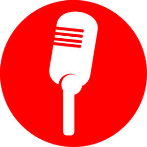 Resized Red Mic Icon